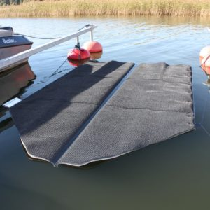 Seaboost Powerturf is the ultimate floating boat hull cleaning device with proven antifouling performance by several tests.