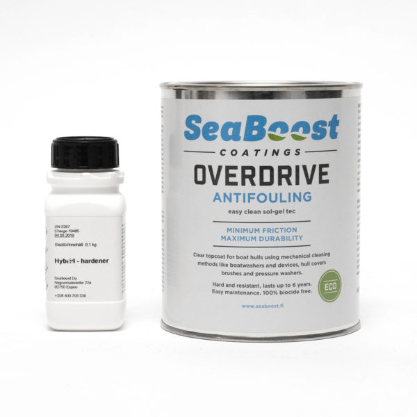 Seaboost Overdrive biocide free antifouling paint