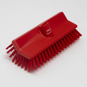 This rough Vikan 70474 High-Low brush is a ideal universal brush onboard for all durable surfaces.