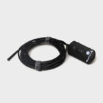WiFi endoscope with zoom, light, camera and 3,5 meter water resistant monitoring cable that you can attach to the Seaboost Powerbrush shaft to check condition of the boat bottom.