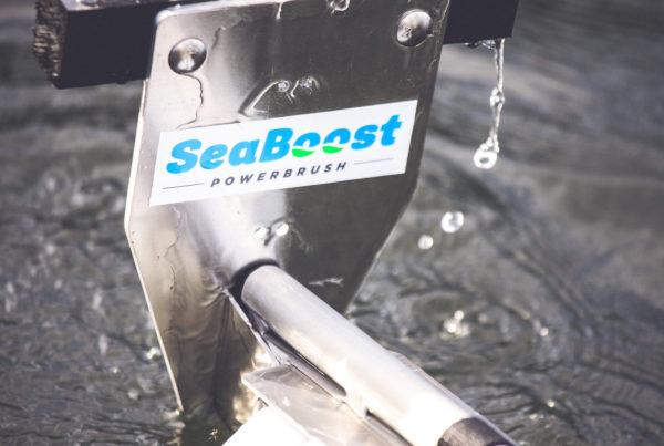 Seaboost Powerbrush the ultimate hull brush