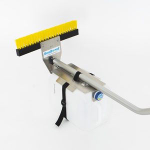 yacht hull cleaning brush Seaboost Powerbrush PRO